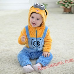 Minions Baby Infant Toddler Halloween onesies Costumes