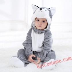 Husky Dog Baby Infant Toddler Halloween Animal onesies Costumes