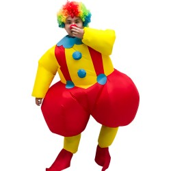 Big Ass Clown Inflatable Costume Clown Costume