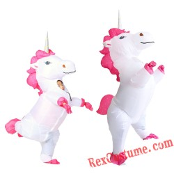 Unicorn Inflatable Blow Up Costume