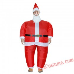 Christmas Santa Claus Inflatable Costume