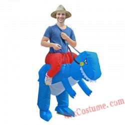 Red Blue Green DinosaurInflatable Costumes