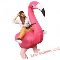 Flamingo Inflatable Costume