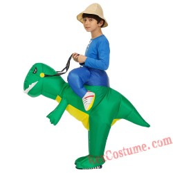 Boys Kids Inflatable Dinosaur Costume