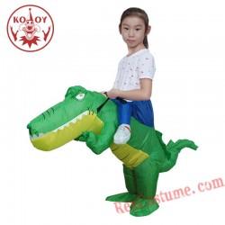 Kids Crocodile Inflatable Costume
