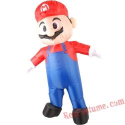 Adult Super Mario Inflatable Costume