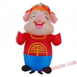Happy Little Pig Happy Pig Inflatable Costume