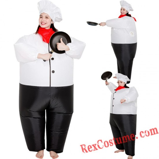 Chef Inflatable Blow Up Costume