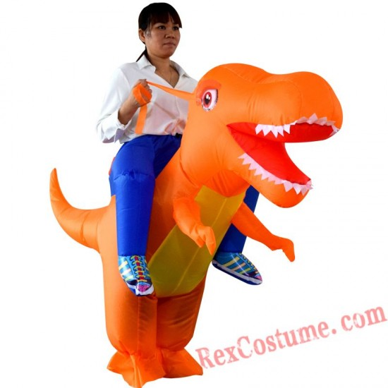Dragon Dinosaur Cosplay T Rex Inflatable Costume Kids