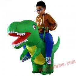Dragon Dinosaur Cosplay T Rex Inflatable Costume Kids