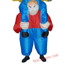 THE MERRY DWARFS Christmas Inflatable  Costume