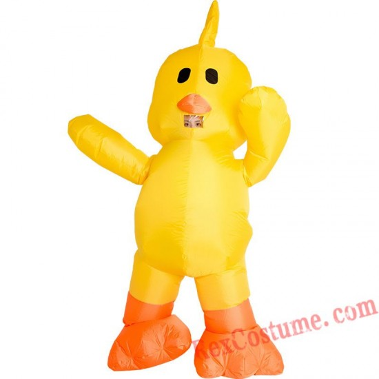 Inflatable Duck Costume