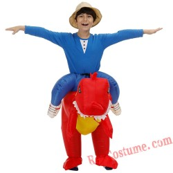 Children Carry On Dinosaur Cosplay Dinosaur Costume