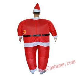 Christmas Santa Claus Inflatable Costume