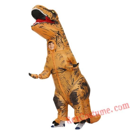 Adult Inflatable Dinosaur Velociraptor T-rex Costume