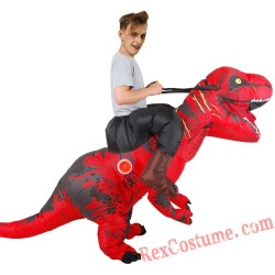 Carry On Dinosaur Adult Inflatable Costume