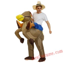 American Wild West Cowboy Knight Inflatable Costume