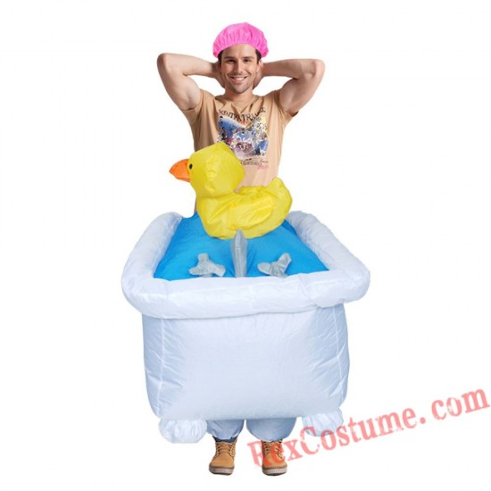 Ride On Bathtub Go Out Inflatable Cosplay Costume