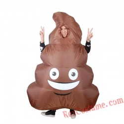 Funny Costume Inflatable Faeces Spoof Costume