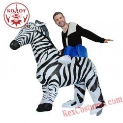 Zebra Inflatable Costume