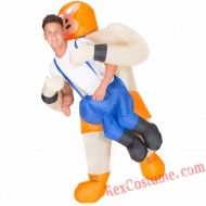 Adult Inflatable blow up Wrestler Costume