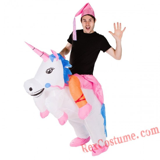 Adult Inflatable blow up Unicorn Costume