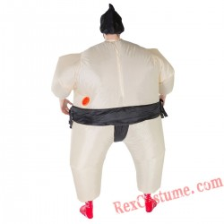 Adult Inflatable blow up Sumo Costume