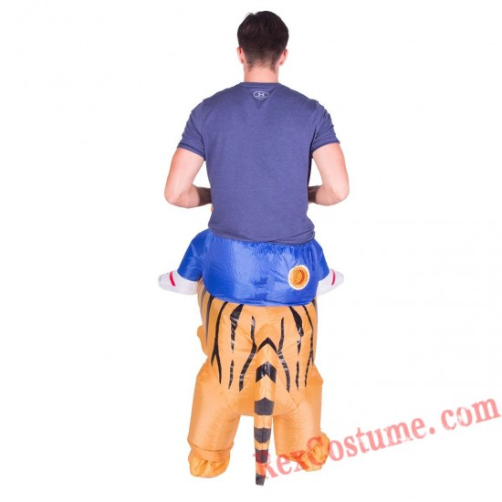 Adult Inflatable blow up Tiger Costume