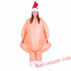 Adult Inflatable blow up Turkey Costume