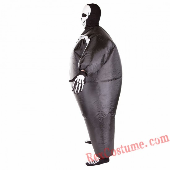 Adult Inflatable blow up Skeleton Costume