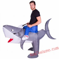 Adult Inflatable blow up Shark Costume