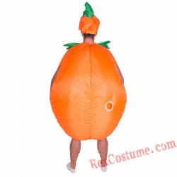 Adult Inflatable blow up Pumpkin Costume