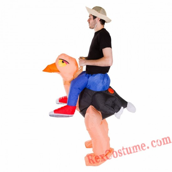 Adult Inflatable blow up Ostrich Costume