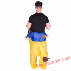 Adult Inflatable blow up Lion Costume