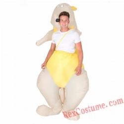 Adult Inflatable blow up Kangaroo Costume