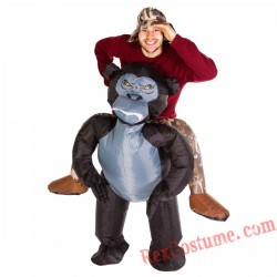 Adult Inflatable blow up Gorilla Costume