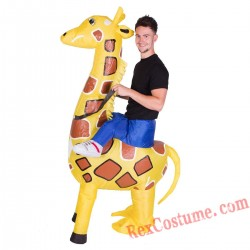 Adult Inflatable blow up Giraffe Costume
