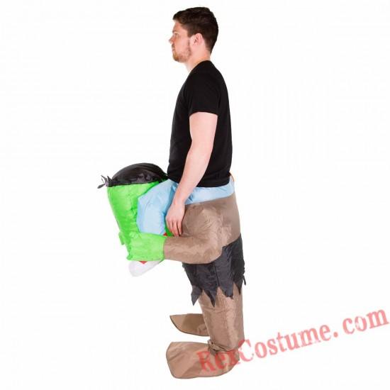 Adult Inflatable blow up Frankenstein Costume