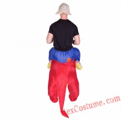 Adult Inflatable blow up Dragon Costume