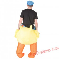 Adult Inflatable blow up Duck Costume