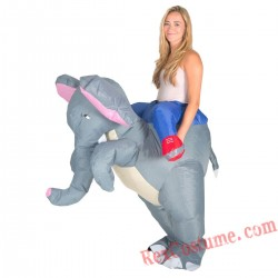 Adult Inflatable blow up Elephant Costume