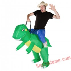 Adult Inflatable blow up Dinosaur Costume