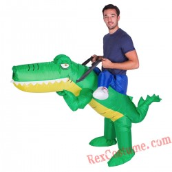Adult Inflatable blow up Crocodile Costume