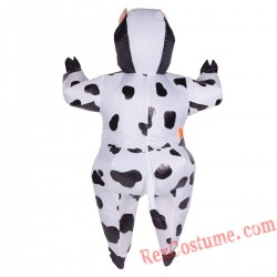 Adult Inflatable blow up Cow Costume