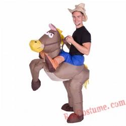 Adult Inflatable blow up Cowboy Costume