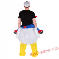 Adult Inflatable blow up Chicken Costume