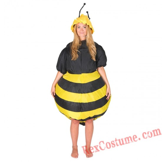 Adult Inflatable blow up Bee Costume