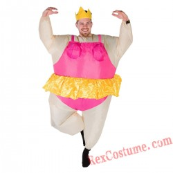 Adult Inflatable blow up Ballerina Costume