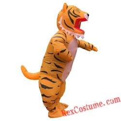 Tiger Inflatable Costume for Adults