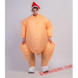 Turkey Inflatable Blow Up Costume Turkey Costume